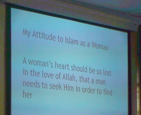 My Attitude to Islam as a Woman