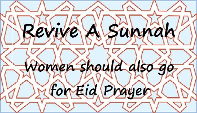 Women Attend Eid Salah