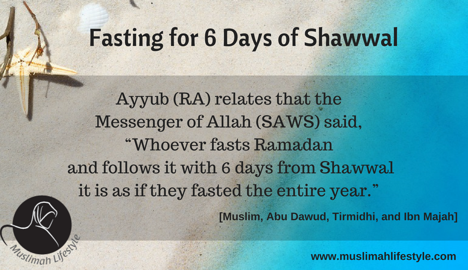 Fasting 6 Days of Shawwal