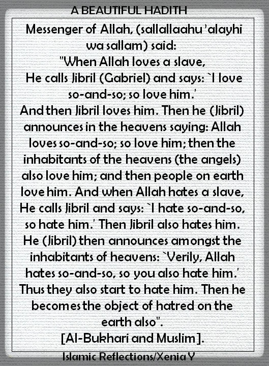 When Allah Loves a Slave