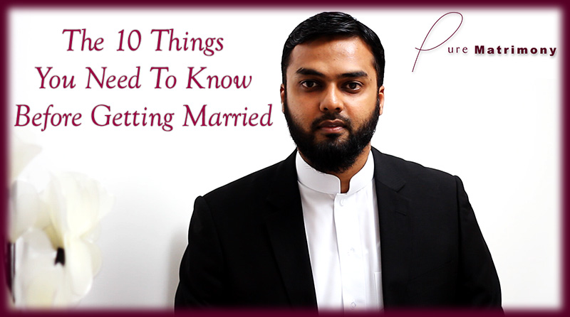 Webinar: 10 things to know before marriage