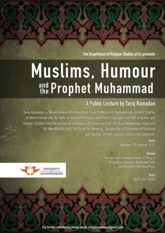 Muslims, Humour & the Prophet Muhammad