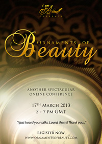 Online Conference: Ornaments of Beauty