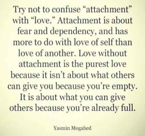 Attachment vs Love