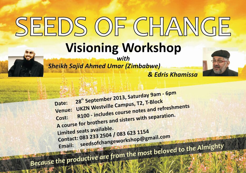 DBN : Seeds of Change Workshop