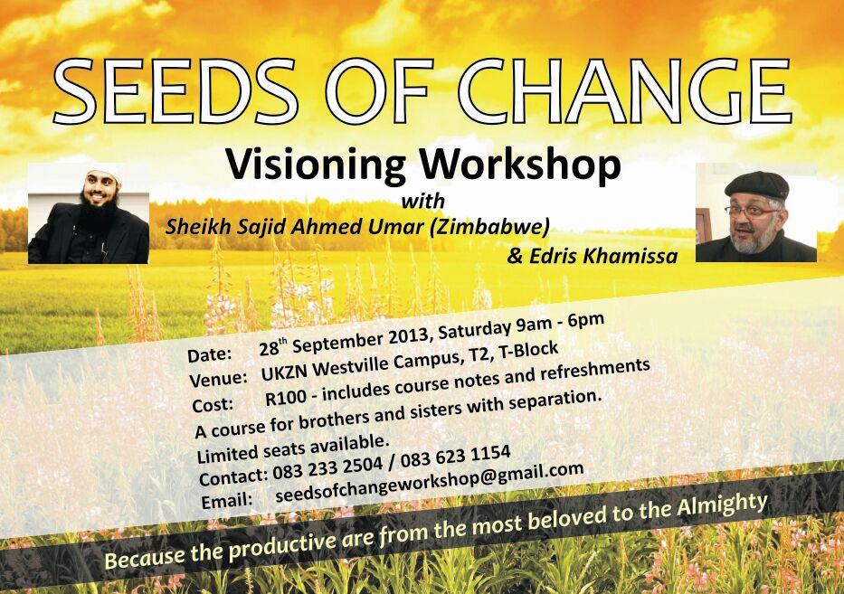 DBN : Seeds of Change Workshop