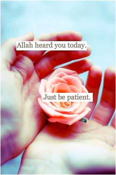 Allah heard you today