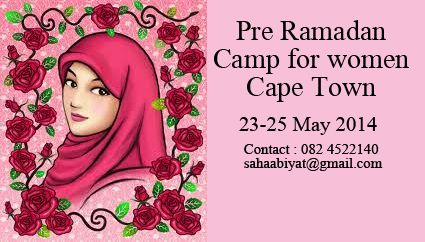 Pre-Ramadan Camp for Muslimahs