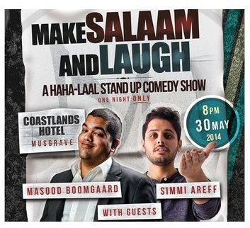 comedy show make salaam and laugh