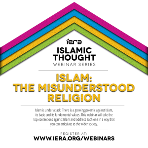 Webinar – Islam: The Misunderstood Religion