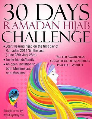30 day Ramadan Hijab Challenge
