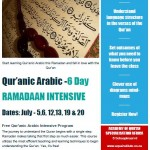 6 day Arabic course 2014