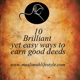 10 ways to earn hasanah