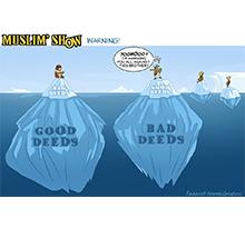 Good Deeds vs Bad Deeds