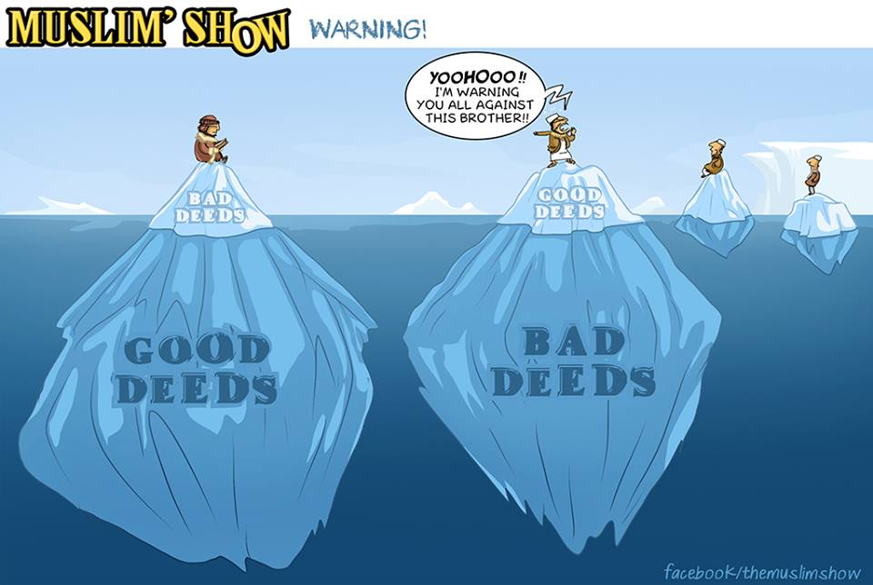 Good deeds vs Bad deeds