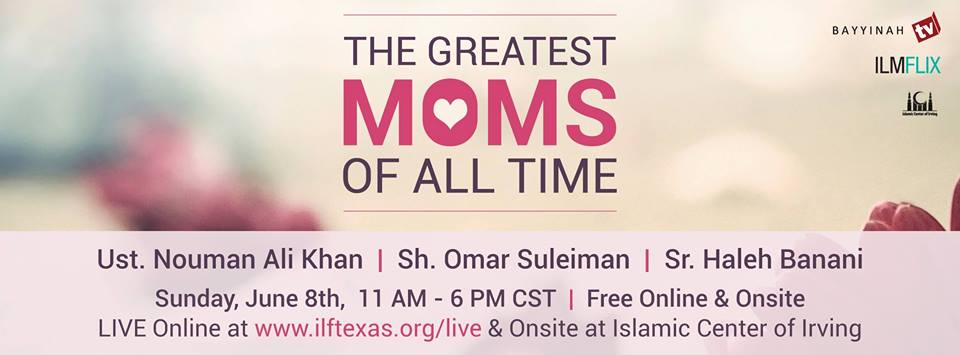 Webinar: Greatest Moms of all Time