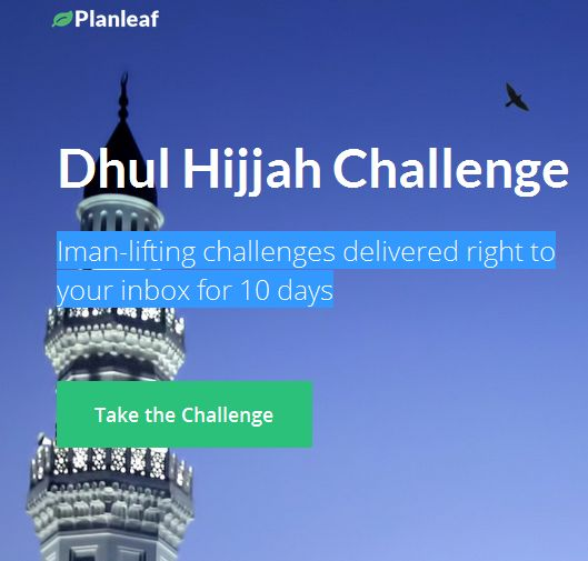 dhul hijjah challenge muslimahlifestyle 1