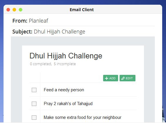 dhul hijjah challenge muslimahlifestyle 2