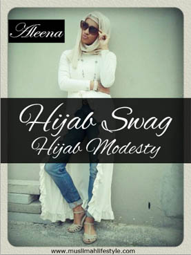 Hijab Swag? Hijab Modesty? Aleena is for you