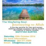 ILMSA Wayfaring Soul Safiyyah Surtee