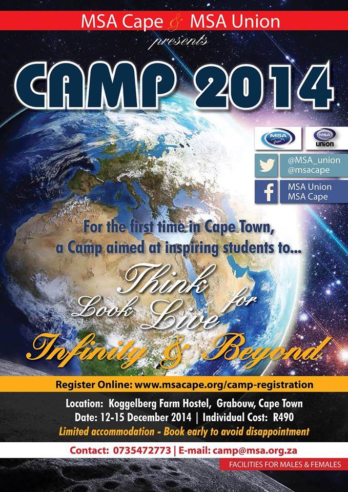 MSA Camp 2014