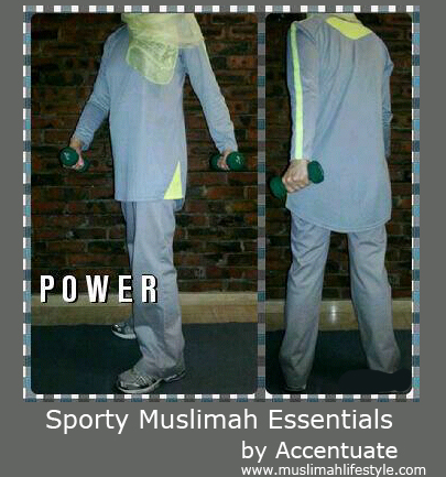 Accentuate Sportswear | www.muslimahlifestyle.com
