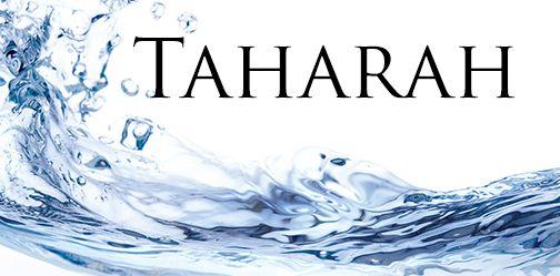CPT: Fiqh of Tahaarah