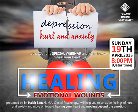 Webinar: Healing Emotional Wounds