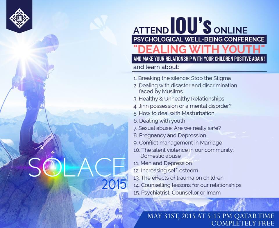 Solace 2015 | Wellbeing Webinar