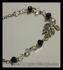 Wimsy leaf hijab chain|www.muslimahlifestyle.com
