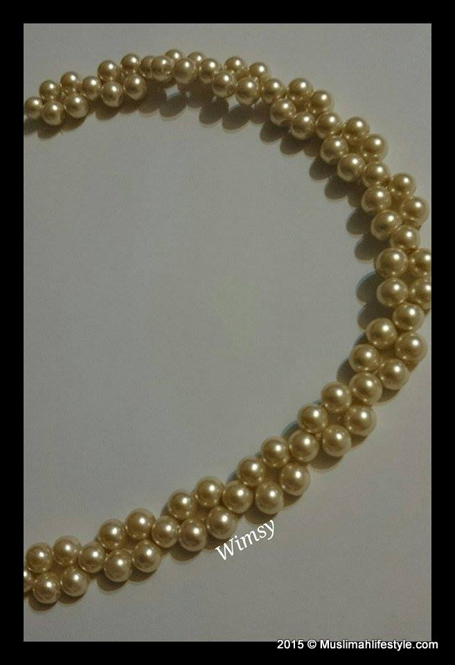 Wimsy Pearl Band| www.muslimahlifestyle.com
