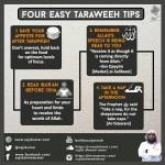 4 easy taraweeh tips