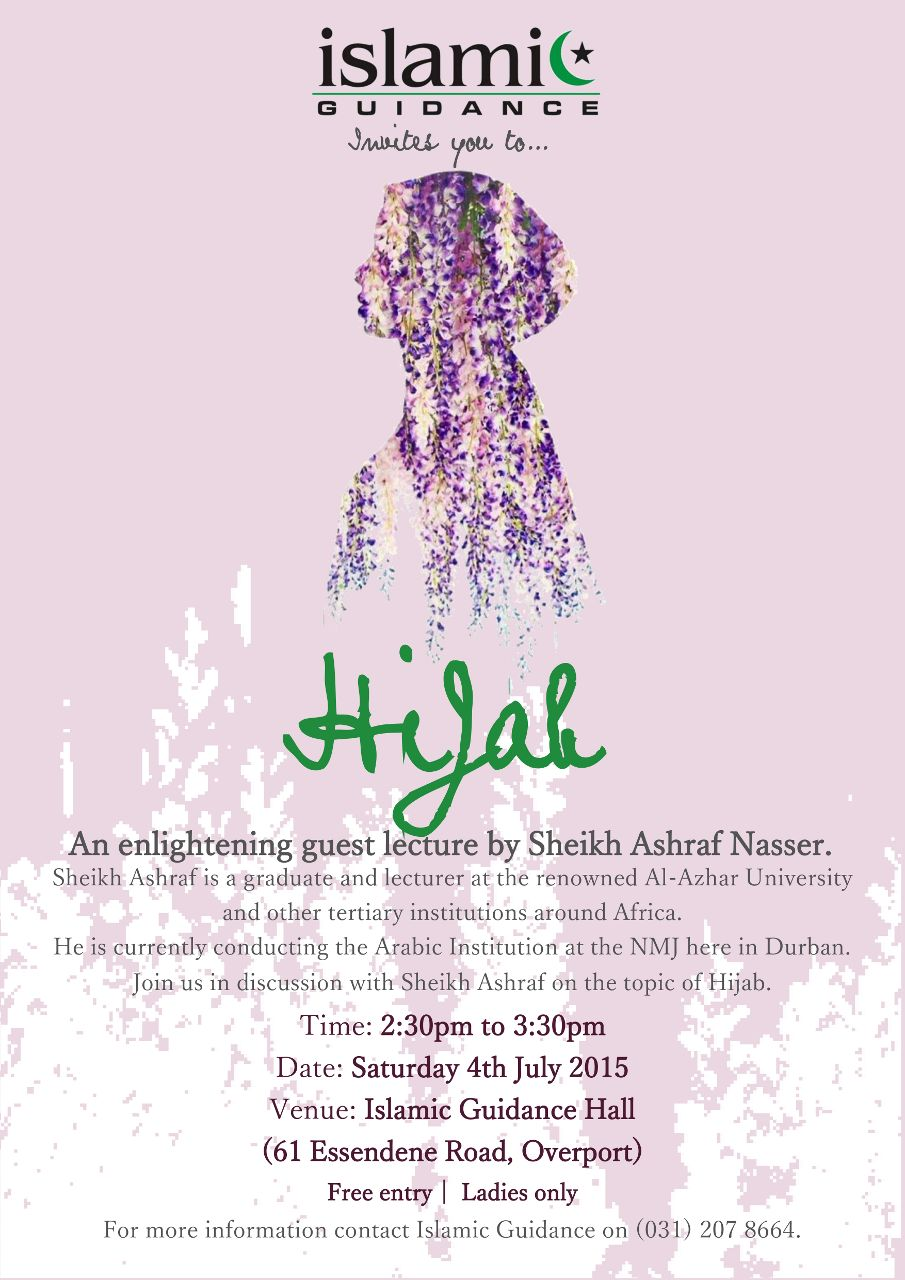 DBN: Hijab Lecture – Women ONLY