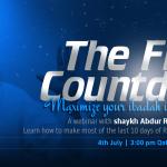 The Final Countdown Ramadan 2015