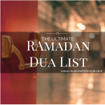 Ramadan Dua Toolbox : The Ultimate Ramadan Dua List Sh Navaid Aziz| www.muslimahlifestyle.com