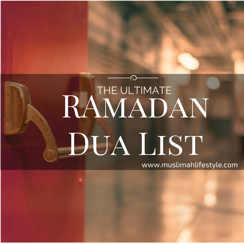Ramadan Dua Toolbox: The Ultimate Ramadan Dua' List