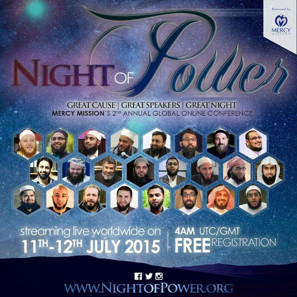Night of Power Conference 2015