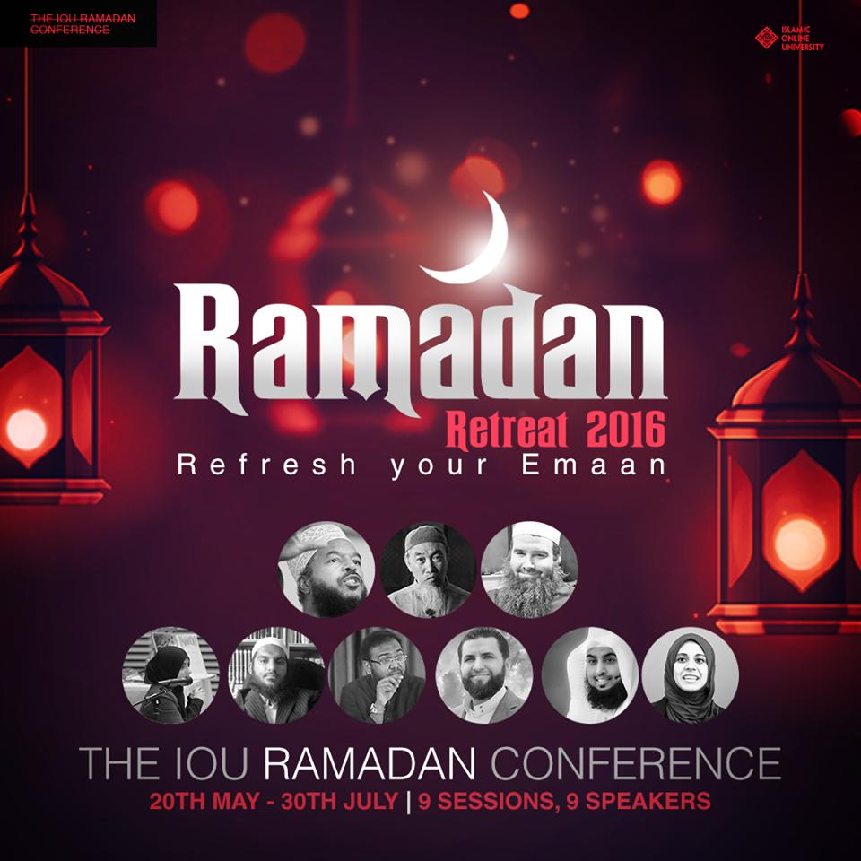 ONLINE: Ramadan Retreat 2016