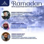 Ramadan with Alkauthar Instructors