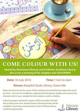 Asma al Husna Coloring Day