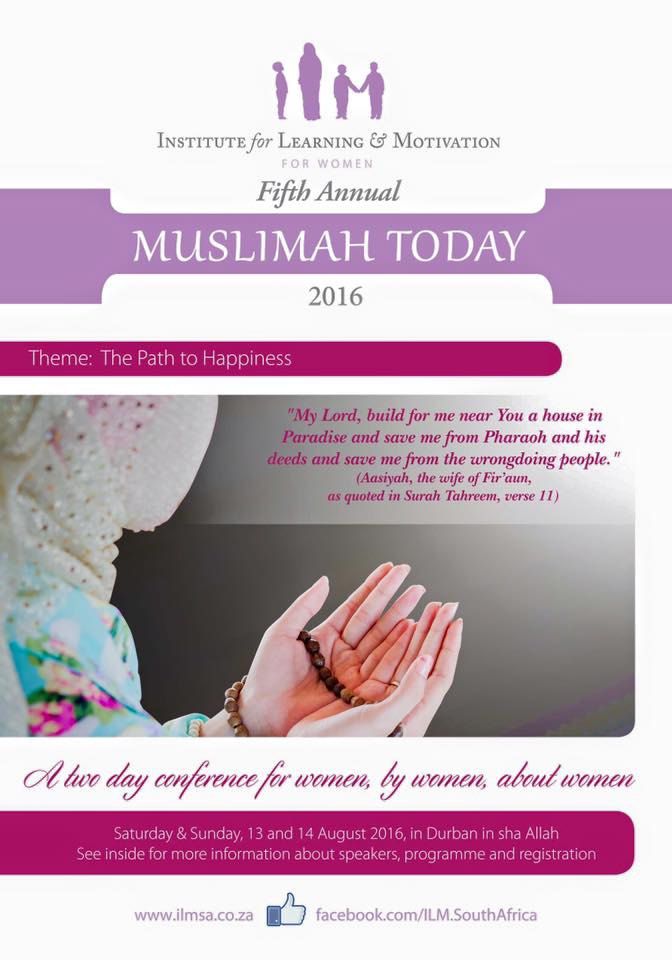Muslimah Today Conference 2016