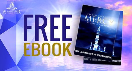 Free Ramadan eBook: The Month of Mercy