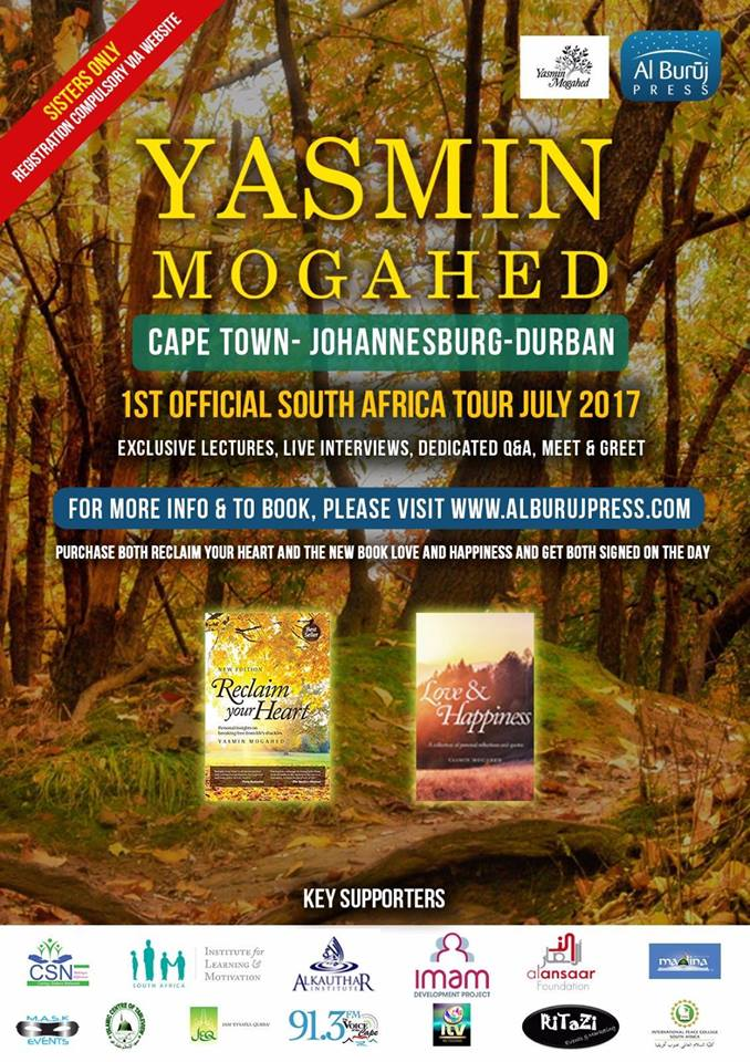 Yasmin Mogahed South Africa Tour