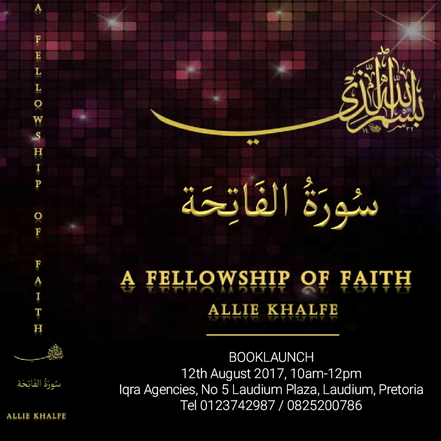 PTA Book Launch: A Fellowship of Faith