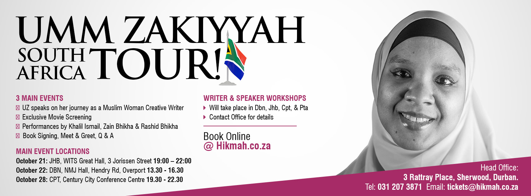 Umm Zakiyyah Tour South Africa