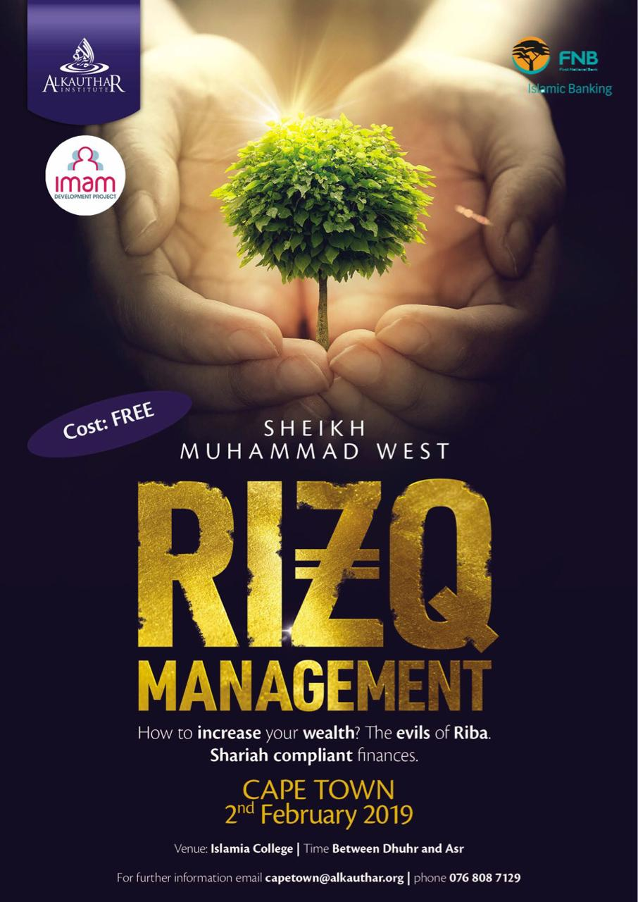 CPT: FREE Rizq Management Course