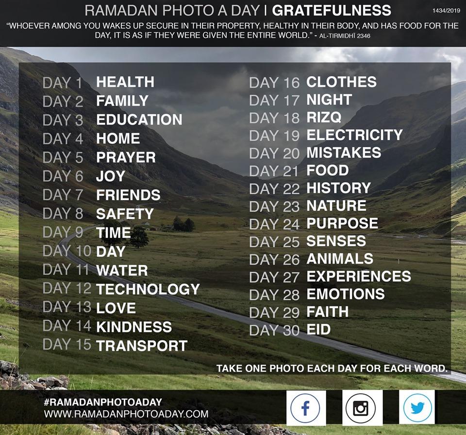 Ramadan Photo a Day 2019