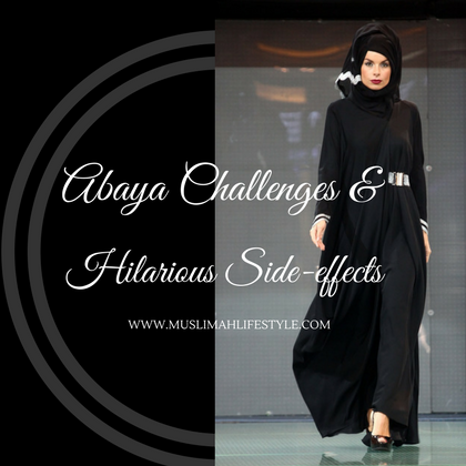 Abaya challenges and hilarious side-effects