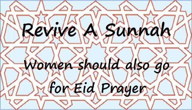 Women Attend Eid Salah