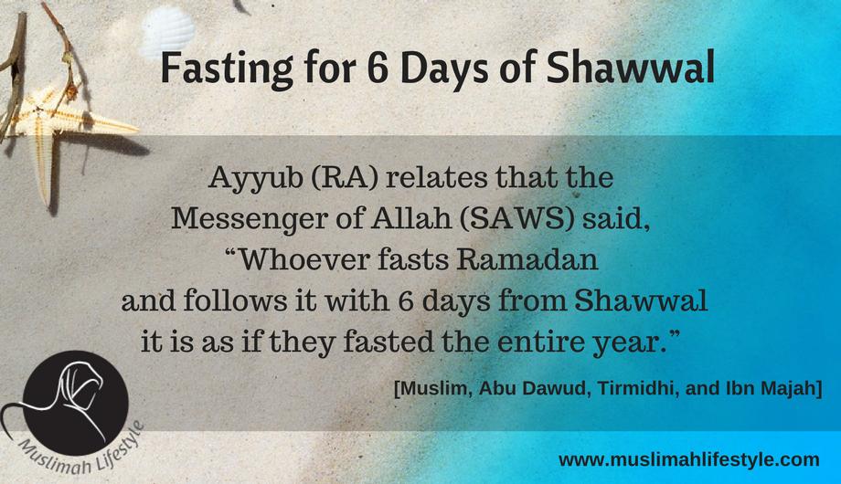 Fasting 6 Days of Shawwal